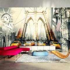 Basera® Selbstklebende Fototapete Street Art-Motiv 10130904-1, mit UV-Schutz