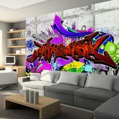 Basera® Selbstklebende Fototapete Street Art-Motiv f-A-0368-a-c, mit UV-Schutz