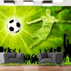 Basera® Selbstklebende Fototapete Sportmotiv 10110907-1, mit UV-Schutz