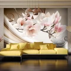 Basera® Selbstklebende Fototapete Magnoliamotiv b-A-0222-a-b, mit UV-Schutz