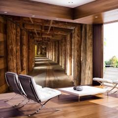 Basera® Selbstklebende Fototapete Architekturmotiv f-B-0003-a-a, mit UV-Schutz