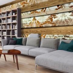 Selbstklebende Fototapete - Wooden Elegance