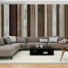 Basera® Selbstklebende Fototapete Holzmotiv f-A-0455-a-a, mit UV-Schutz