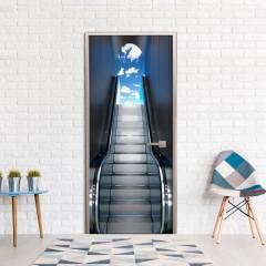 Artgeist Türtapete -  Escalator