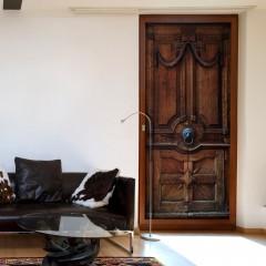Artgeist Türtapete - Luxury Door
