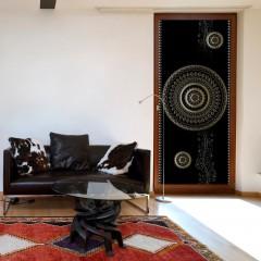 Artgeist Türtapete - Photo wallpaper - Pattern – circles I