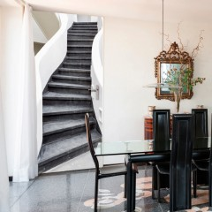 Artgeist Türtapete - Photo wallpaper – Stairs I