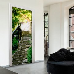 Artgeist Türtapete - Stony Stairs