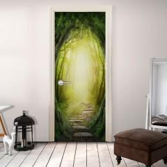 Artgeist Türtapete - The Forest of Fantasy