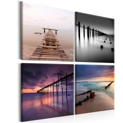 Artgeist Wandbild - Four Views