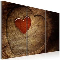 Artgeist Wandbild - Alte Liebe rostet nicht - Triptychon
