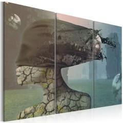Artgeist Wandbild - Brainstorm - triptych
