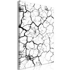 Artgeist Wandbild - Cracked Earth (1 Part) Vertical