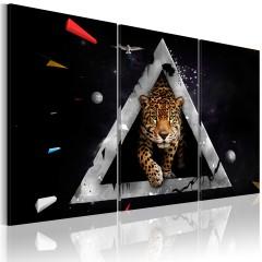 Artgeist Wandbild - Der Tiger kommt!