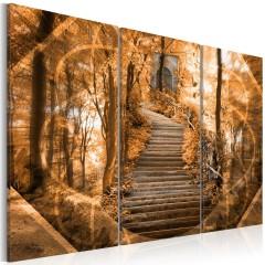 Artgeist Wandbild - Die Treppe zum Himmel