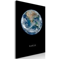 Artgeist Wandbild - Earth (1 Part) Vertical