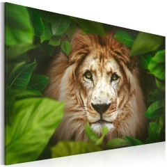 Artgeist Wandbild - Eyes of the jungle