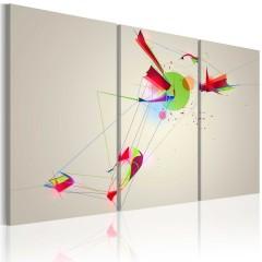 Artgeist Wandbild - Farben & Formen