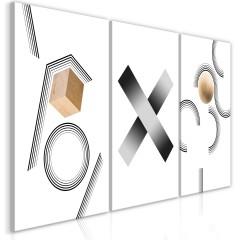Artgeist Wandbild - Geometry (Collection)