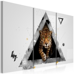 Artgeist Wandbild - Grünäugiger Tiger