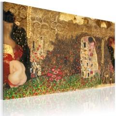 Artgeist Wandbild - Gustav Klimt - Inspiration