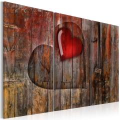 Artgeist Wandbild - Heart to heart