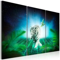 Artgeist Wandbild - Ice tiger