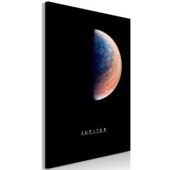 Artgeist Wandbild - Jupiter (1 Part) Vertical