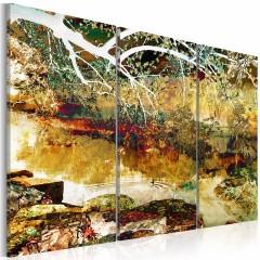 Artgeist Wandbild - Lake of illusions