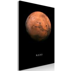 Artgeist Wandbild - Mars (1 Part) Vertical