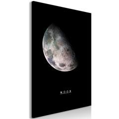 Artgeist Wandbild - Moon (1 Part) Vertical