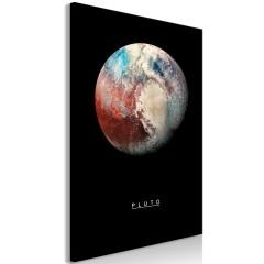 Artgeist Wandbild - Pluto (1 Part) Vertical