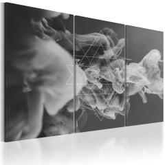 Artgeist Wandbild - Rauch und Symmetrie