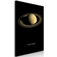 Artgeist Wandbild - Saturn (1 Part) Vertical