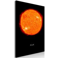 Artgeist Wandbild - Sun (1 Part) Vertical