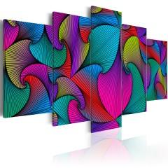Artgeist Wandbild - Carousel of Colours