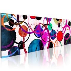 Artgeist Wandbild - Colourful Circle