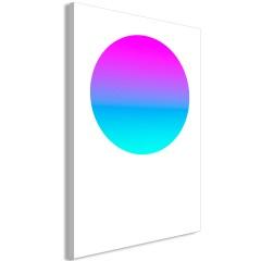 Artgeist Wandbild - Colourful Circle (1 Part) Vertical