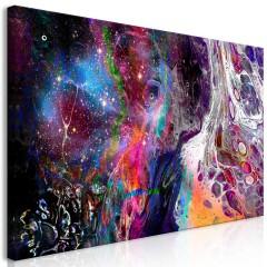 Artgeist Wandbild - Colourful Galaxy (1 Part) Wide