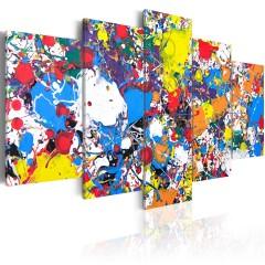 Artgeist Wandbild - Colourful Imagination