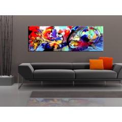 Artgeist Wandbild - Colourful Immersion