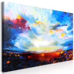 Artgeist Wandbild - Colourful Sky (1 Part) Wide