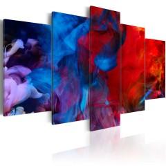 Artgeist Wandbild - Dance of Colourful Flames