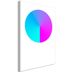 Artgeist Wandbild - Neon Gradient (1 Part) Vertical