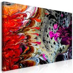 Artgeist Wandbild - Paint Fusion (1 Part) Wide
