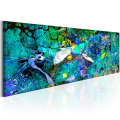 Artgeist Wandbild - Sapphire Jungle