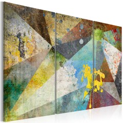 Artgeist Wandbild - Through the Prism of Colors