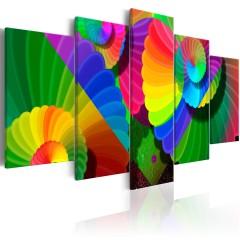 Artgeist Wandbild - Twisted Colours