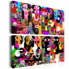 Artgeist Wandbild - Abstract Conversations