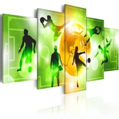 Artgeist Wandbild - I Love Soccer